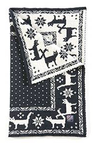 Cat's Blanket - Black & White