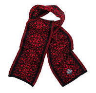 Hemsedal Scarf - Black & Red